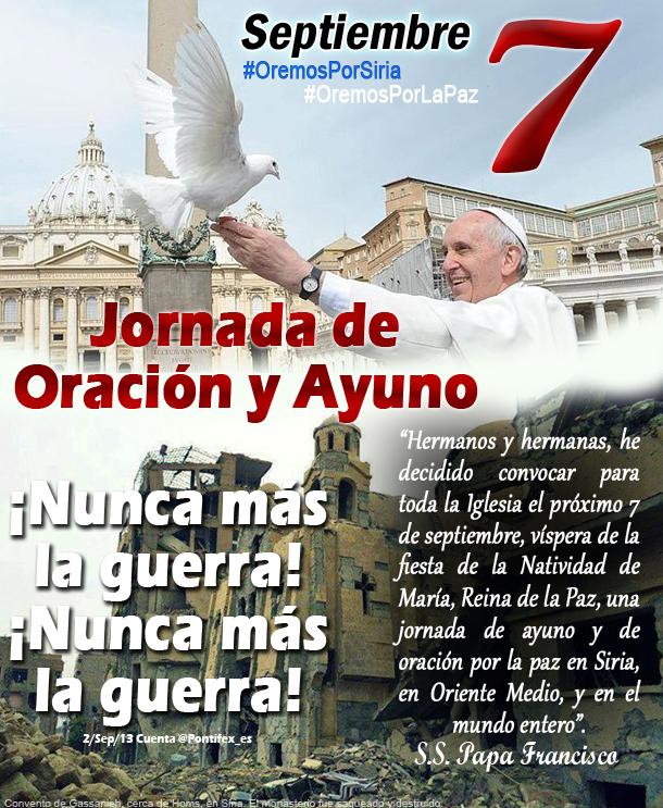 Oración por la paz en el mundo - aciprensa.com